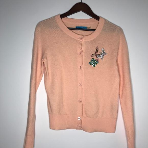 Alice + Olivia Sweaters - Alice + Olivia Button Down with Rhinestone Pins